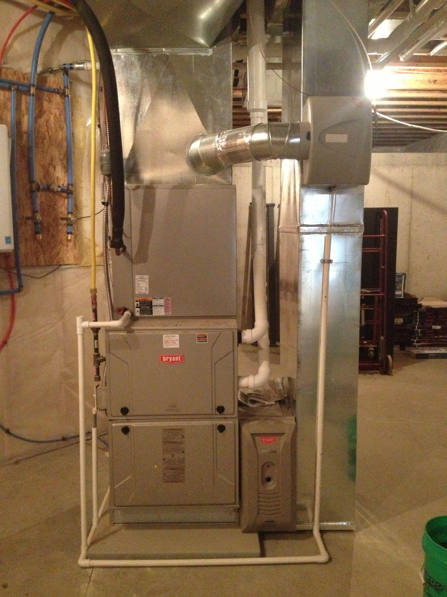 New Construction Residential Furnace Installation