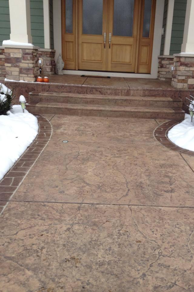 Radiant Snow Melt System Installation