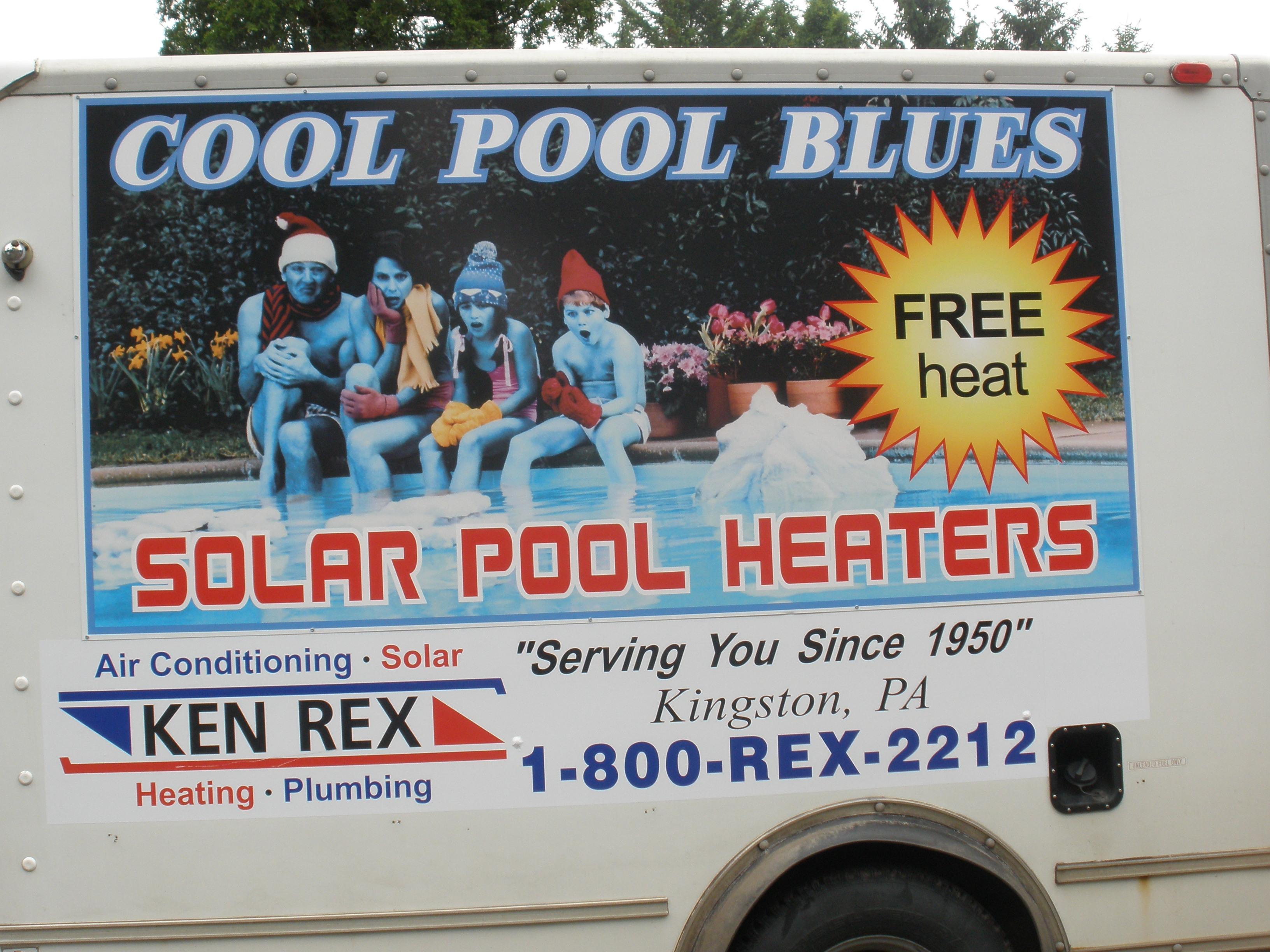 Ken Rex Solar Heating Truck Decal