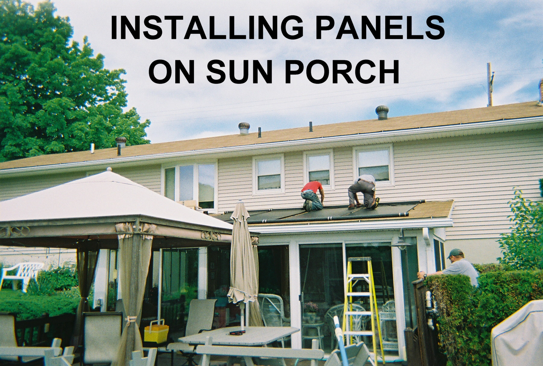 Residential Solar Pool Heating Installation
