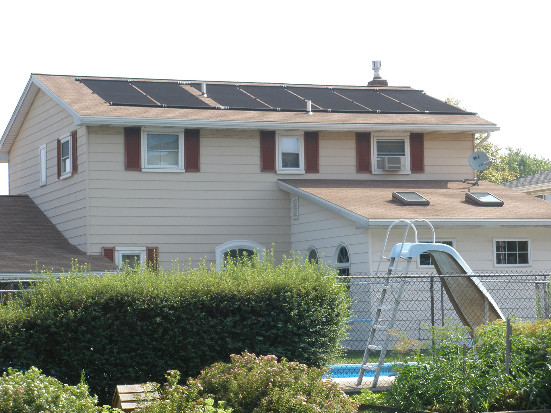 Second Story Solar Panel Installation