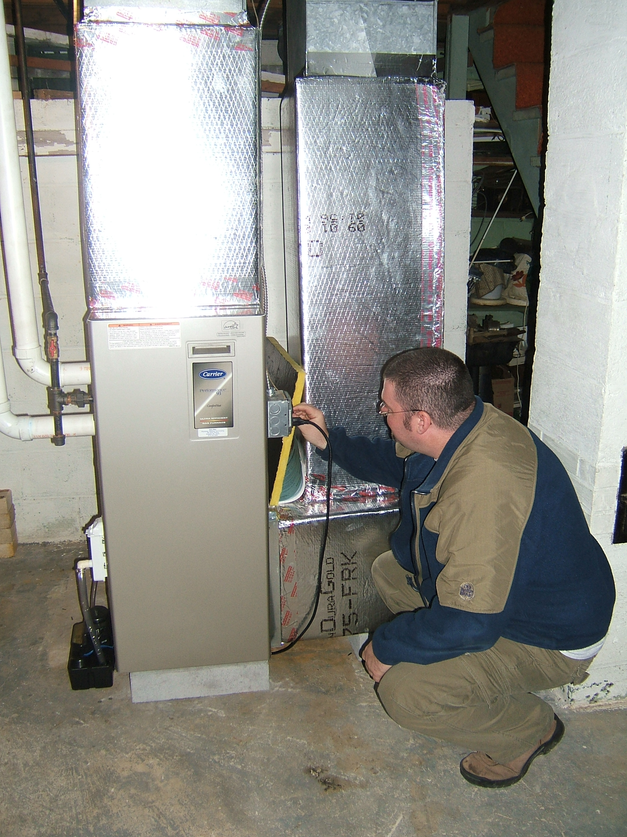 Checking Electric on Gas Furnace