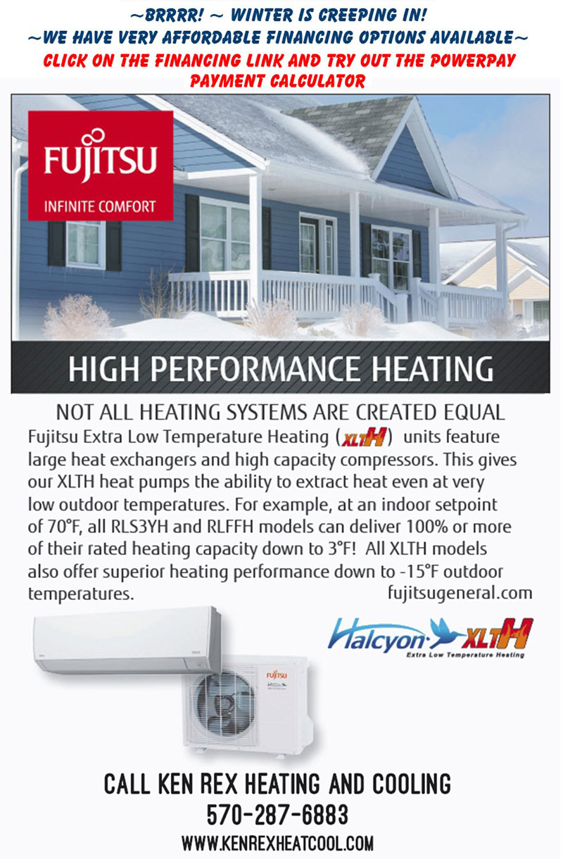 Fujitsu High Performance Heating