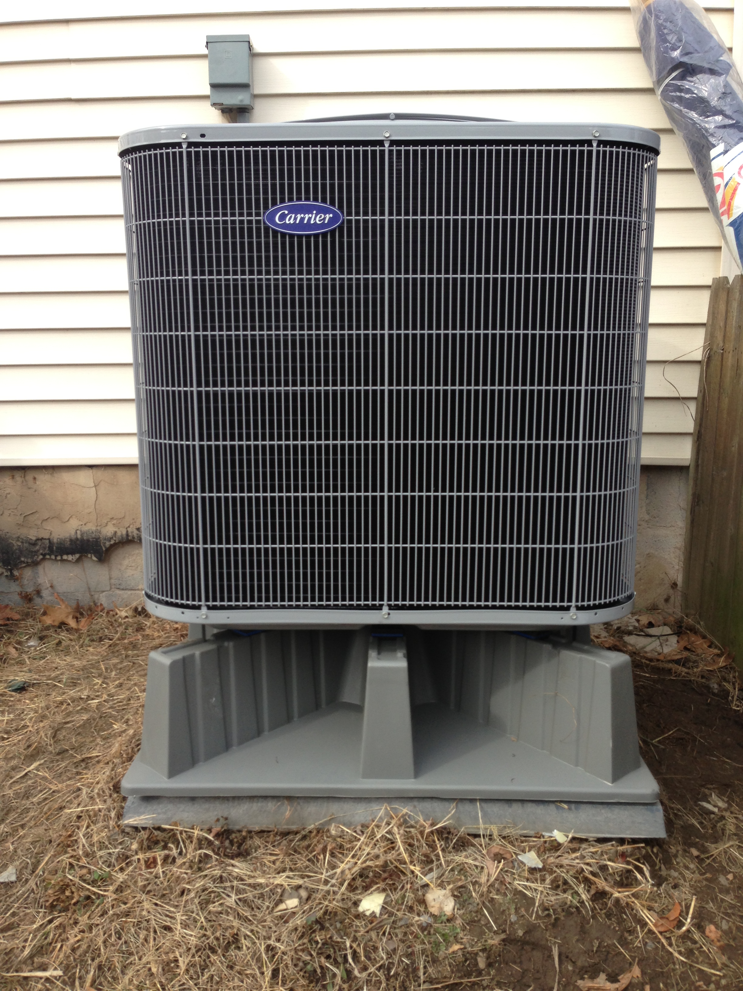 Residential Carrier Outdoor Heat Pump