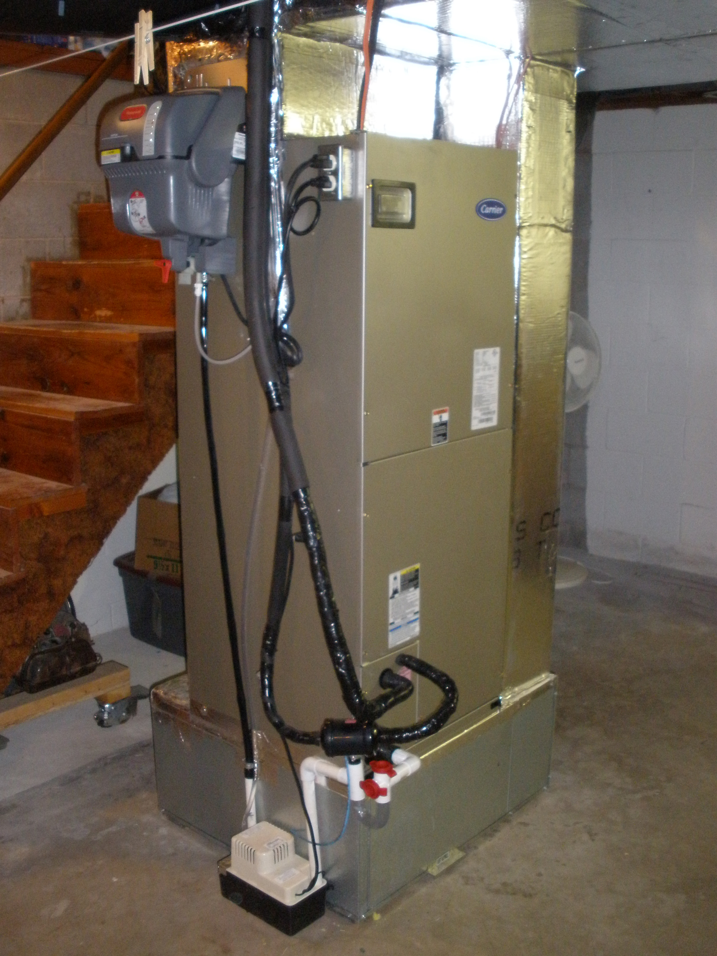 Whole House Humidifier Installation