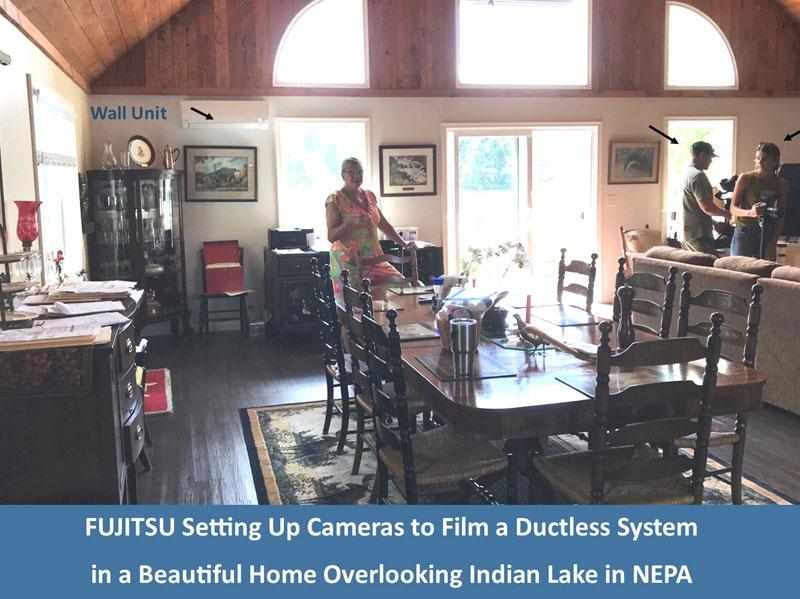 Lake House Wall Unit - Fujitsu Commercial