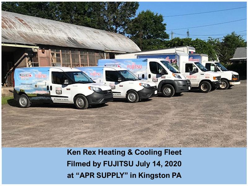 Ken Rex Heating & Cooling Fleet