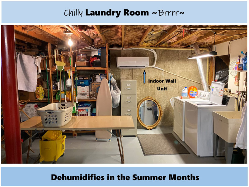 Warm Your Laundry Room in Winter