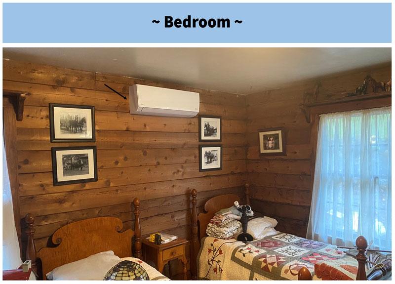 Cabin - Bedroom #1