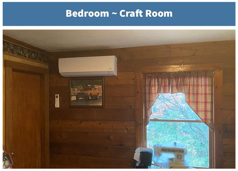 Cabin - Bedroom #3/Craft Room
