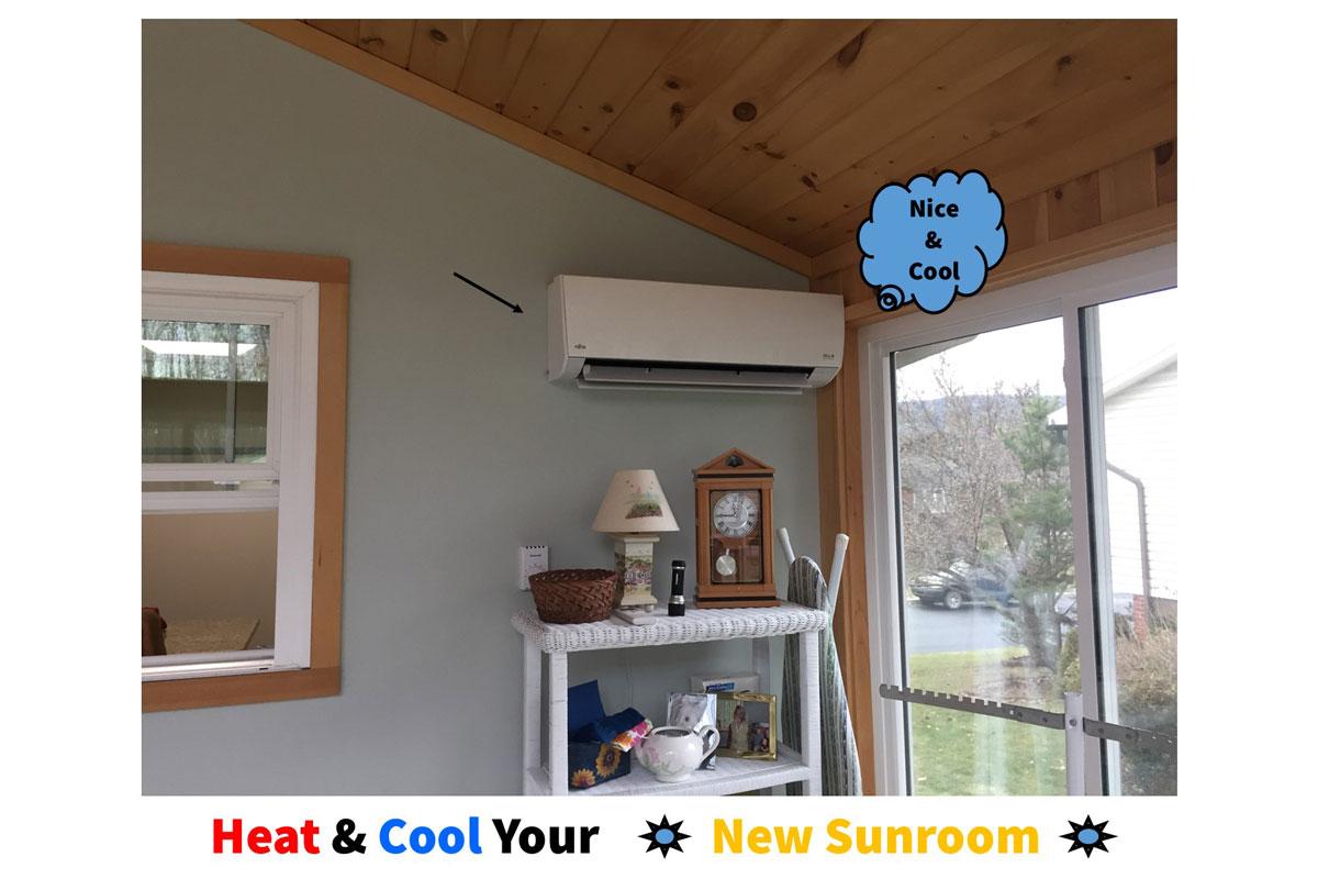 Heat & Cool Your New Sunroom