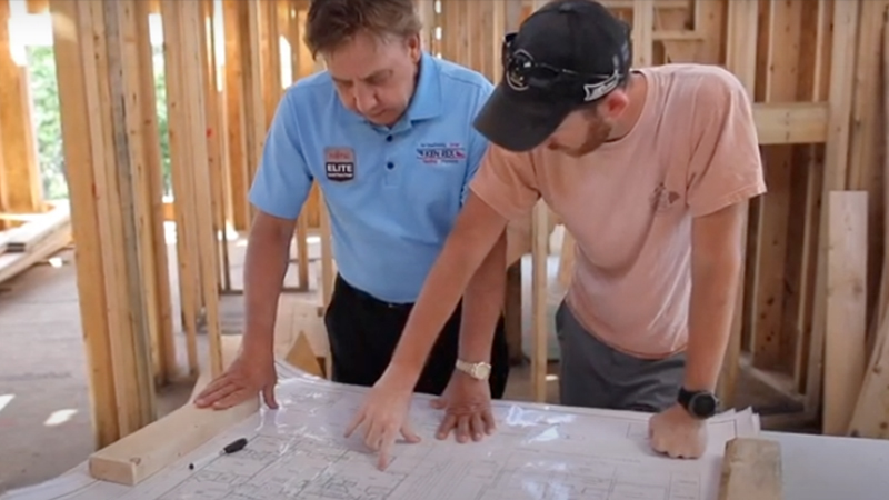 Ken Rex Heating & Cooling Installing Fujitsu Ductless Systems in New Construction