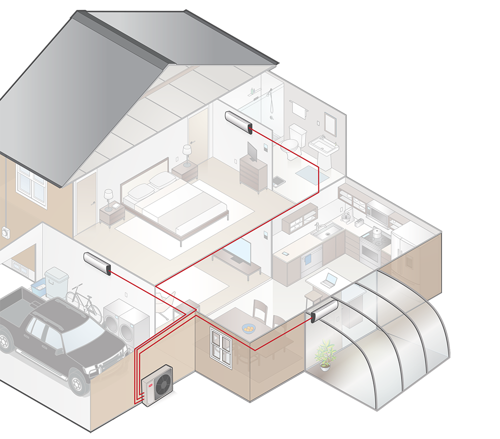 Bryant Ductless House Layout