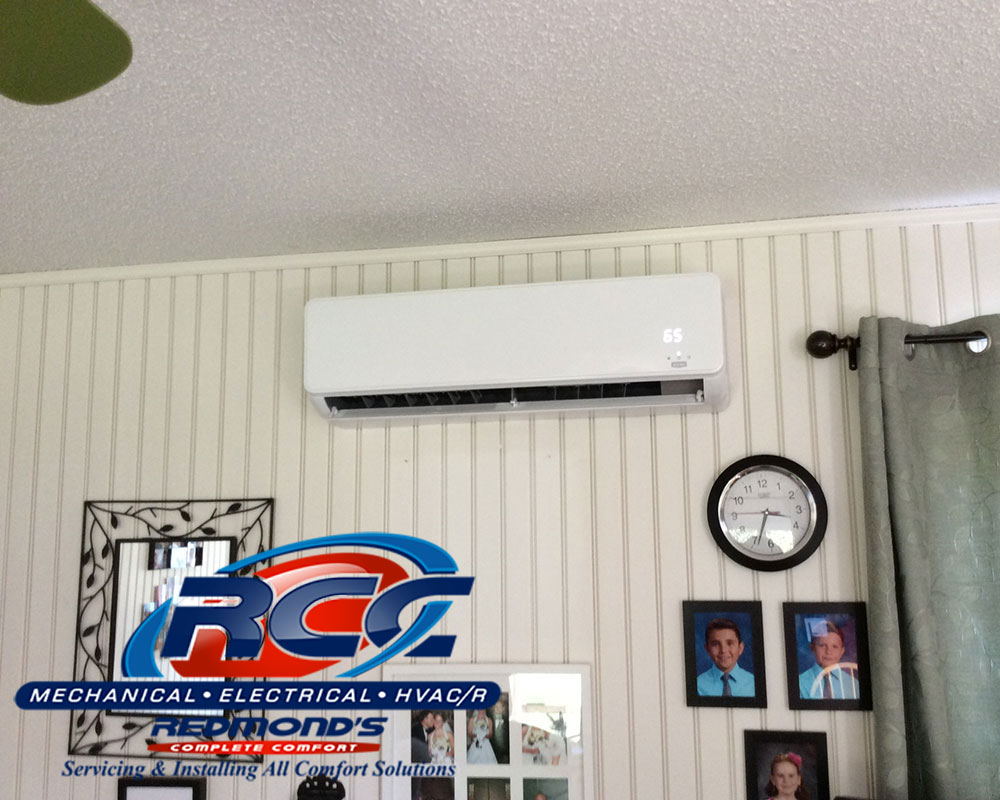 Bonus bedroom with Bryant ductless AC near Williamsport, PA