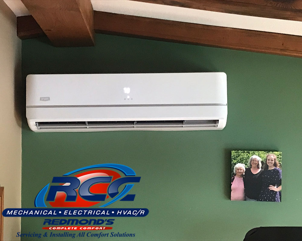 Bryant ductless ac in bedroom near Beech Creek, PA