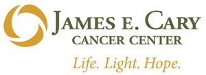 PROUD SUPPORTER OF JAMES E. CARY CANCER CENTER AND BLESSING BREAST CENTER
