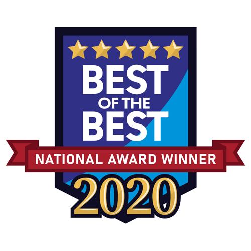 2020 Best of the Best National Award Winner