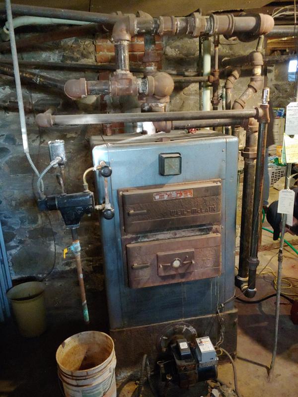 Boiler Installation - Before