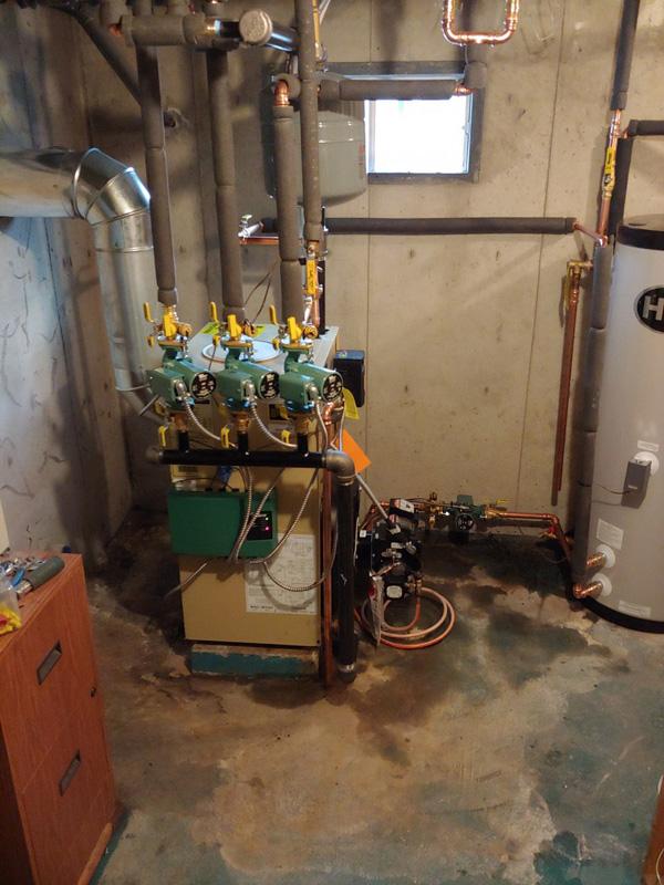 AFTER - Boiler Installation