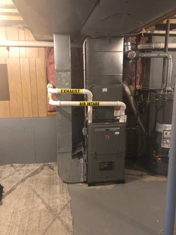 After Furnace Installation