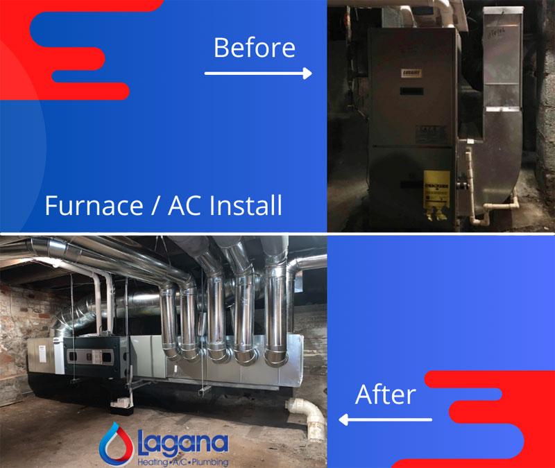 Trane Furnace / AC Install