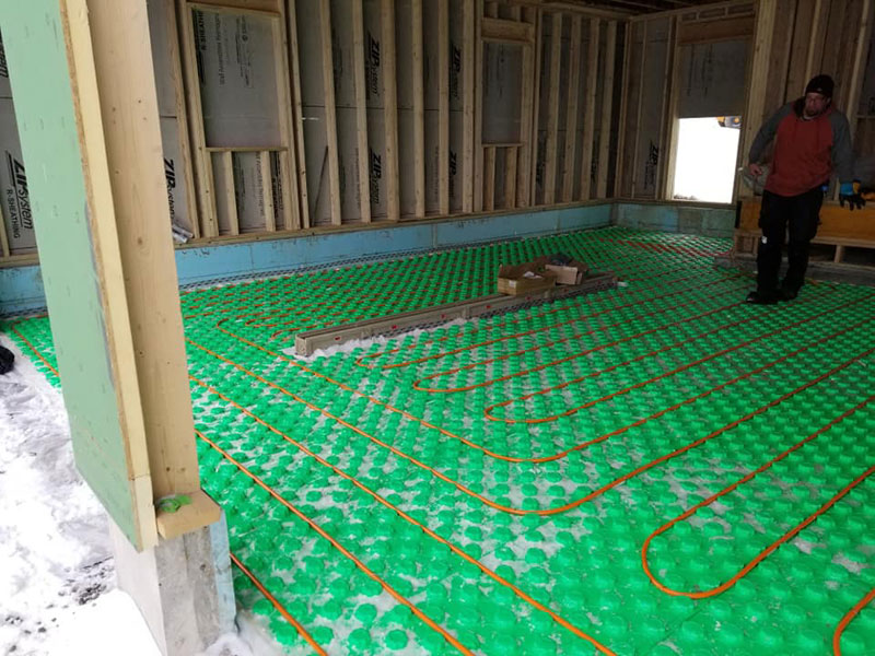 Radiant Floor Heating Installation - 3