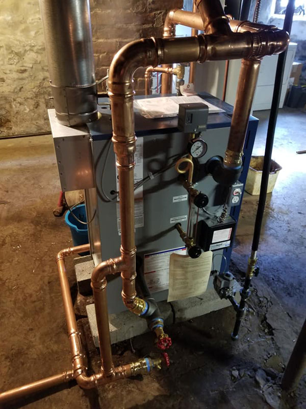 Utica Steam Boiler Installation - 2