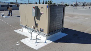 Allied Commercial Rooftop Unit Installation