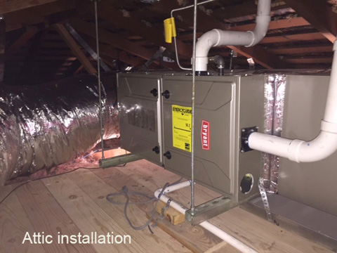 Attic Installation
