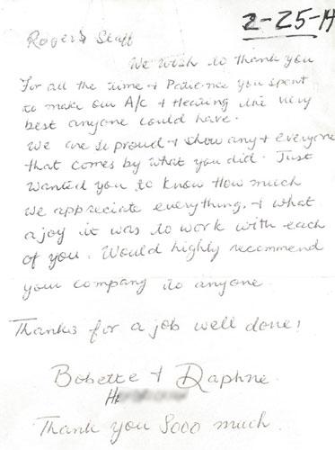 Bobette & Daphne H review
