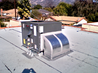 Amana Packaged Air Conditioning and Heating Roof Mount