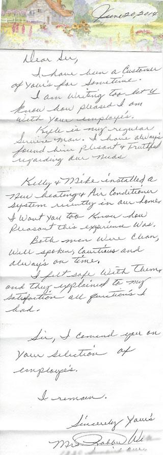 Mrs. Robbie W. review