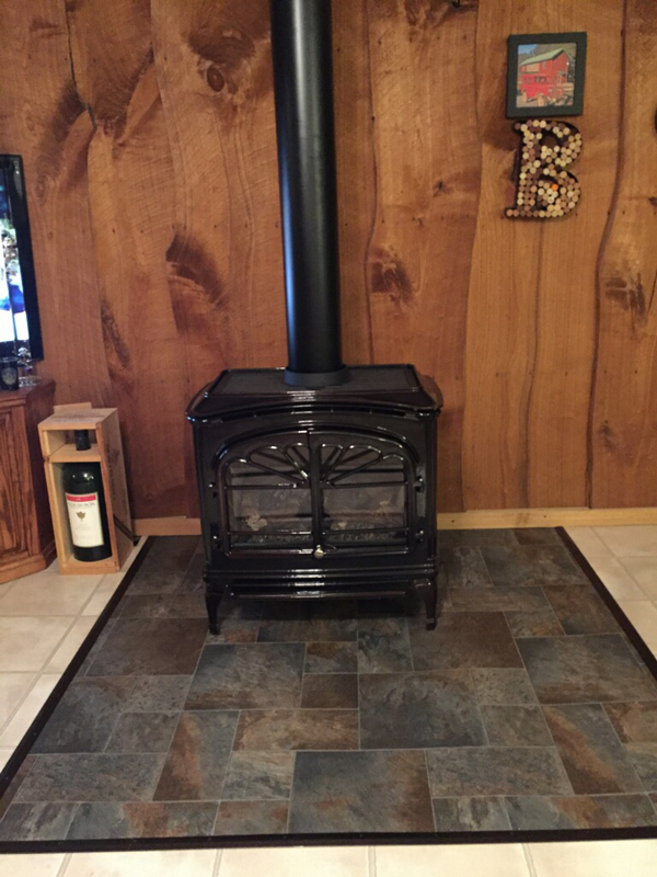 Fireplace Replacement - After