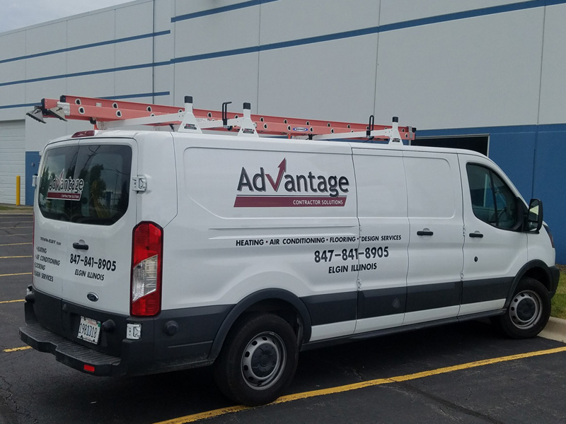 ADVANTAGE CONTRACTOR SOLUTIONS VAN