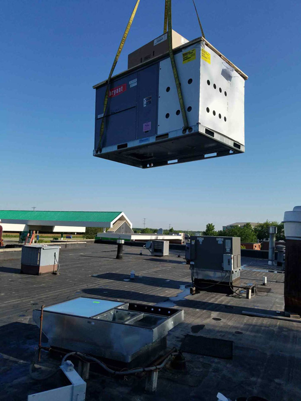 ROOF TOP UNIT INSTALL