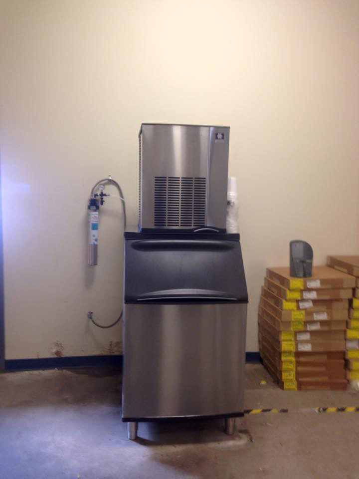 Nuggett Ice Machine with Water Filtration System Installation
