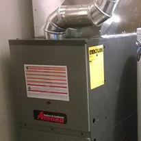 Amana 80% 2 stage furnace