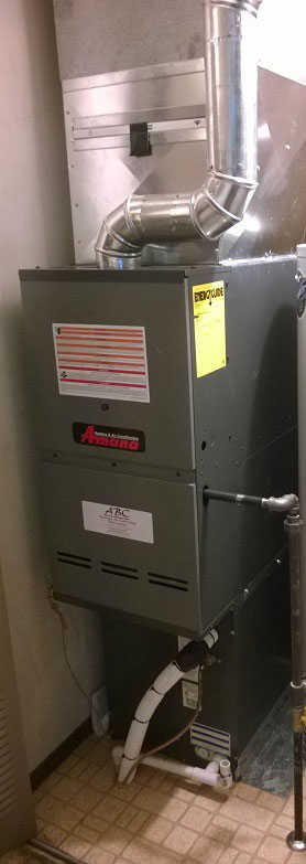 Furnace replacement in Mansfield