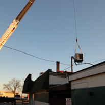 commercial rooftop unit lift