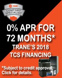 Trane Financing Promotion