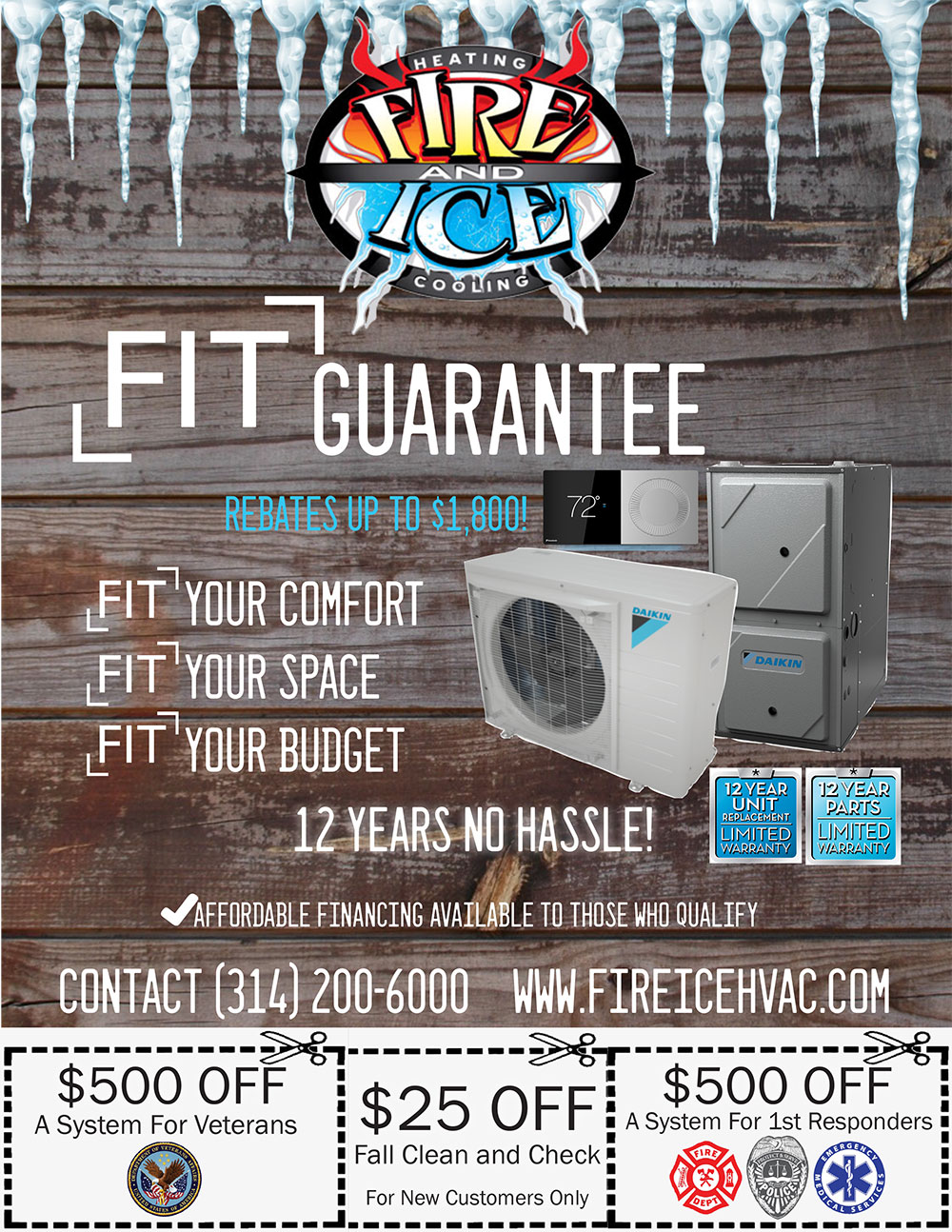 Daikin FIT Winter Promotion