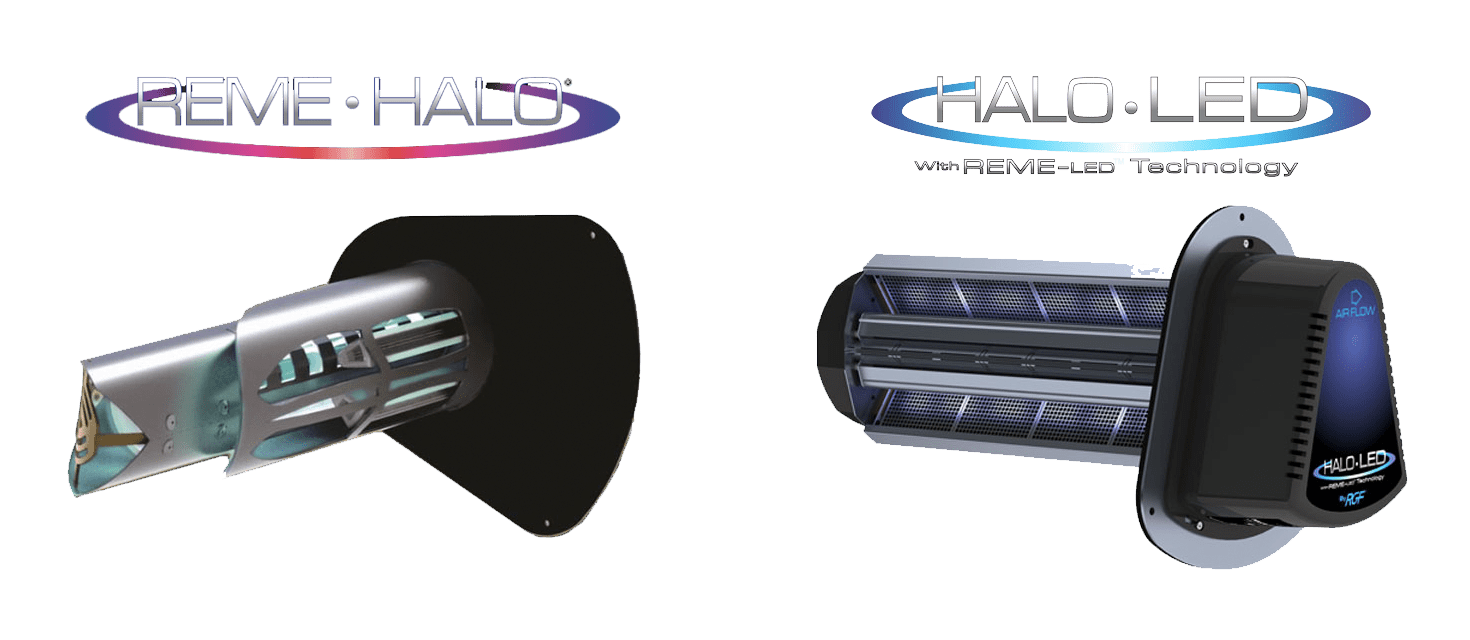 Reme Halo and Halo LED products and logos