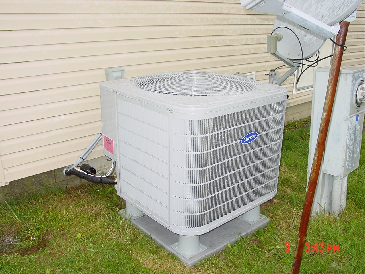 15 SEER Heat pump install Muncie, indiana