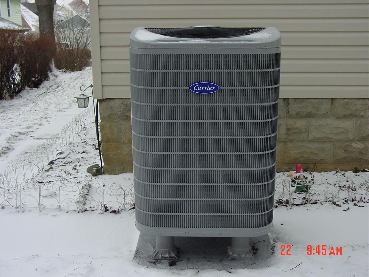 15 SEER Heat pump install, Muncie, IN