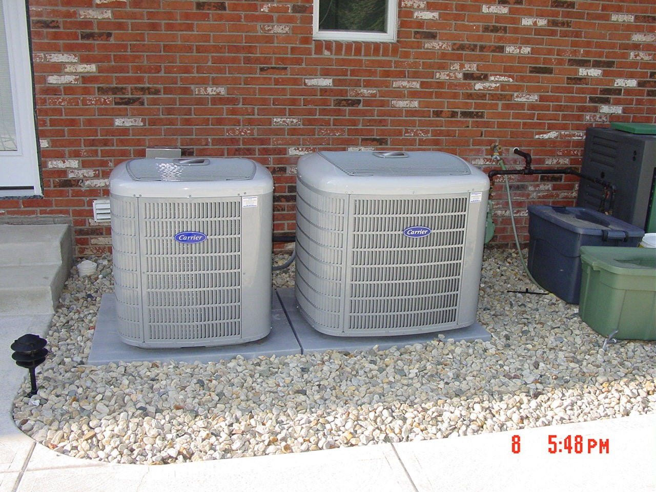 17 SEER air conditioner install, Yorktown, IN