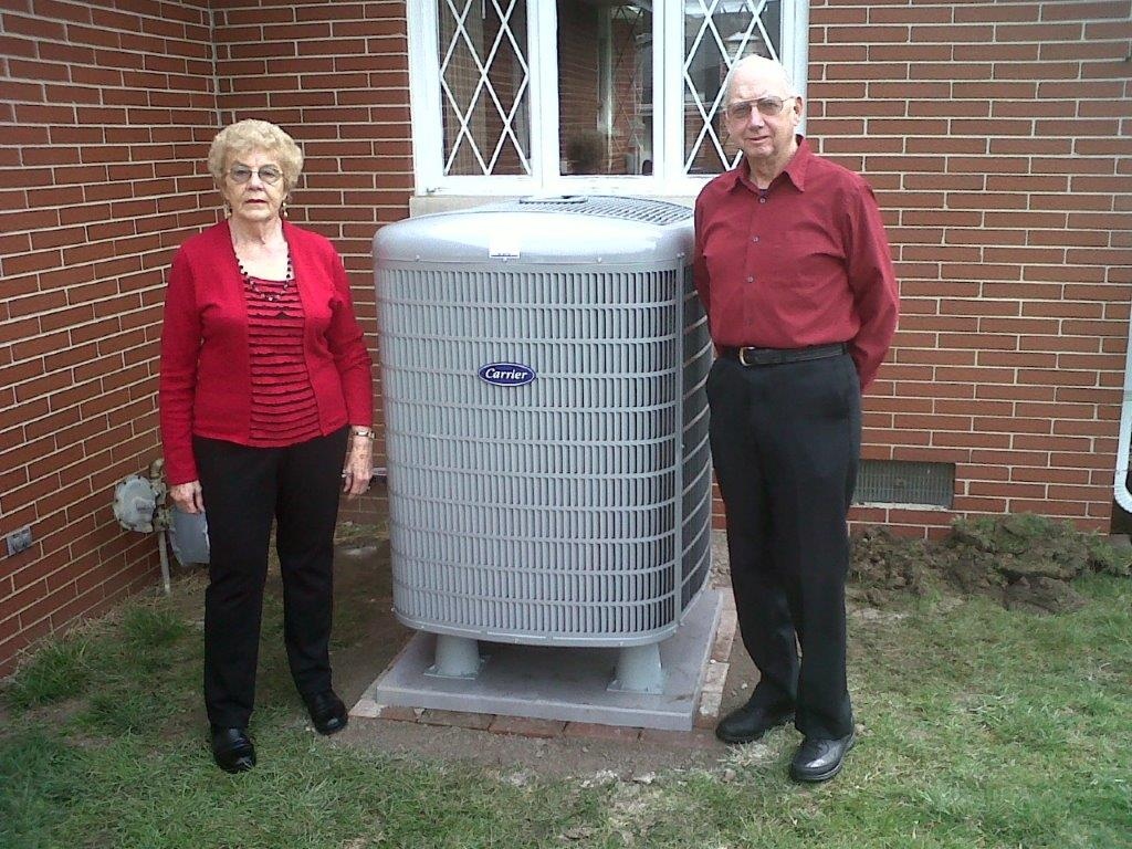 Carrier 19 seer heat pump, Muncie, IN