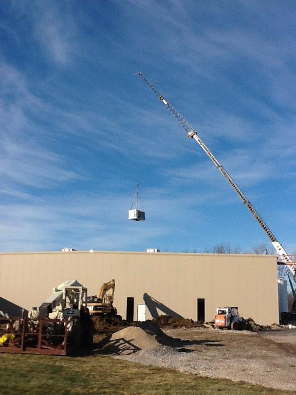 Rooftop unit Tomken Plastics Muncie, IN