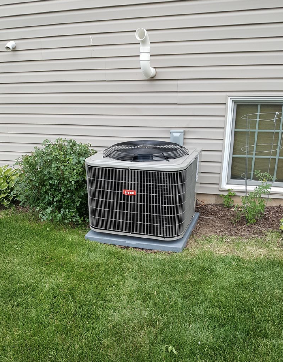 Installed new 16 seer Bryant A/C