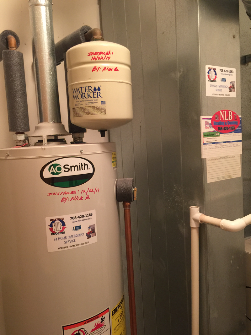 AO Smith Water Heater Install December 2014