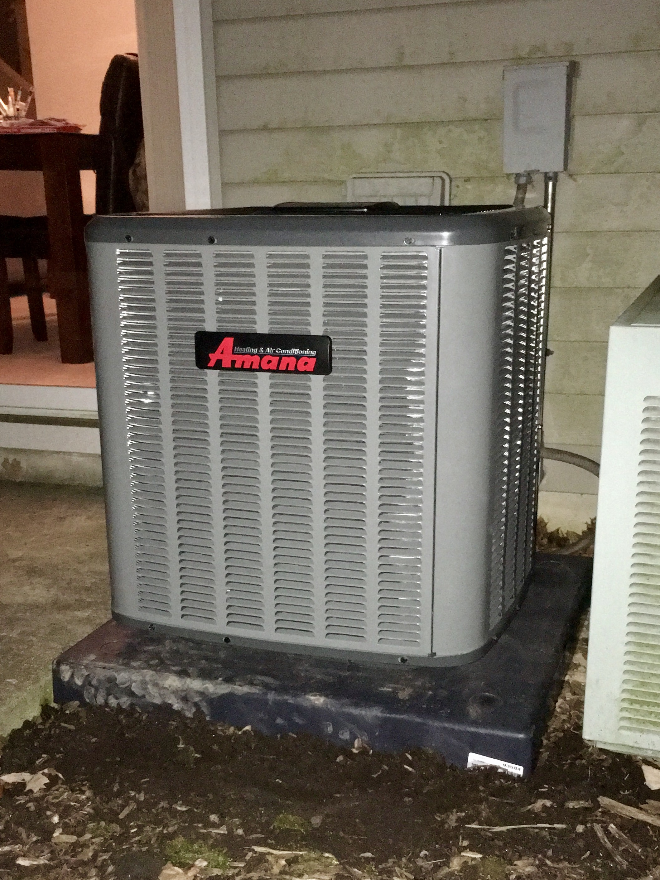 Amana ASX13 Central AC Install<br>February 13, 2017 - Plainfield IL